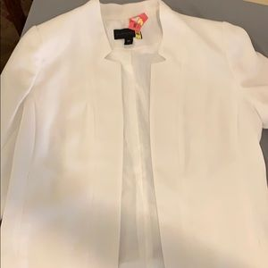 Worthington white contemporary blazer